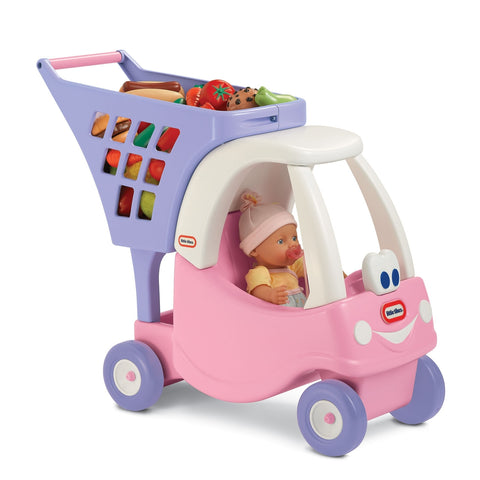 Image of Little Tikes Princess Cozy Shopping Cart