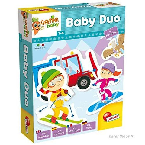 Lisciani Baby Duo The Mountains Puzzle