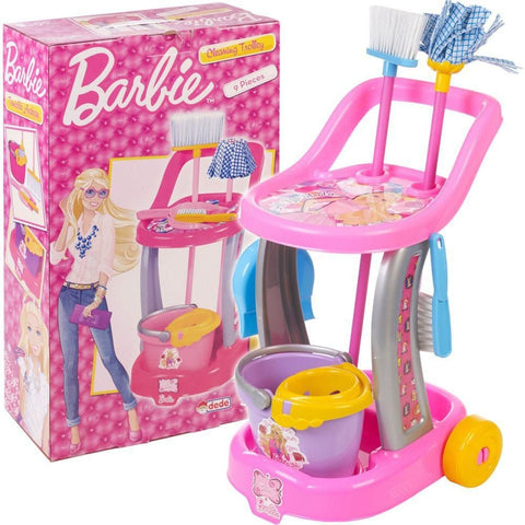Image of DEDE Barbie Cleaning Trolly-1970