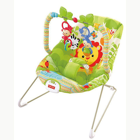 Image of Fisher Price Rainforest Friends Bouncer