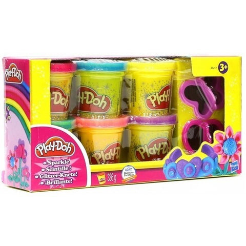 Hasbro Play Doh Sparkle Compound Collection Pack Of 4