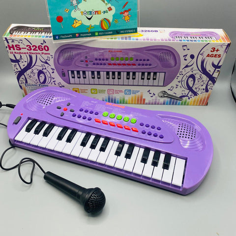 32 Keys Keyboard Piano with Microphone - TZP1