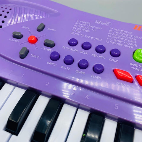 Image of 32 Keys Keyboard Piano with Microphone - TZP1