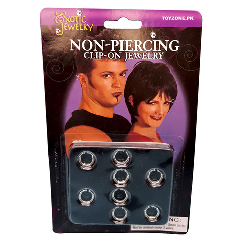 Exotic Jewelry Non-Piercing Nose Rings-Nose-Rings