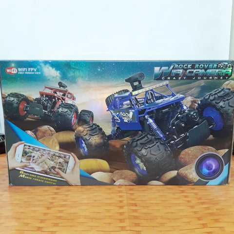WIFI Controlled Rock Crawler Car With Camera