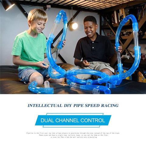 High Speed Pipeline Racing Track Set
