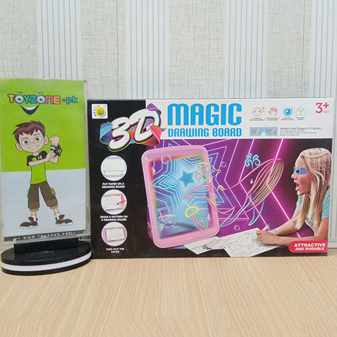 3D Magic Drawing Board With Glow