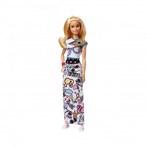 Image of Barbie Crayola Color In Fashion Doll