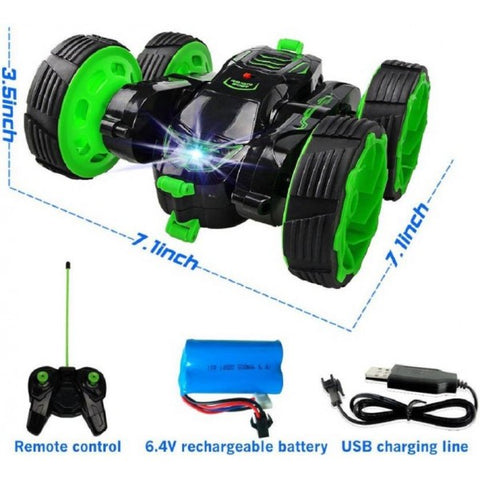 Double Sided Roll Crawling Stunt Car