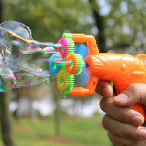Image of Electric Water Bubble Gun