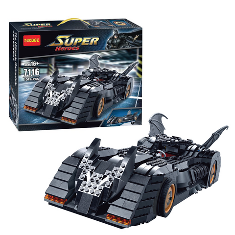 Image of Decool - The Ultimate Batmobile Collection Bat Chariot Building Block