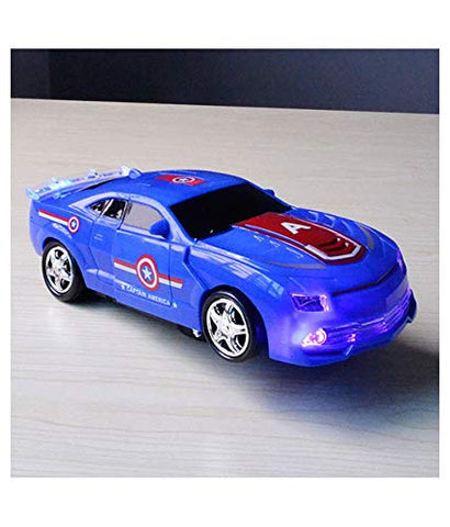 Image of 2 in 1 Deformation Captain America Car