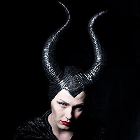 Image of Halloween Black Queen Horns