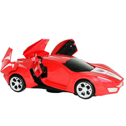 Flash and Deformation Car with Lights & Music