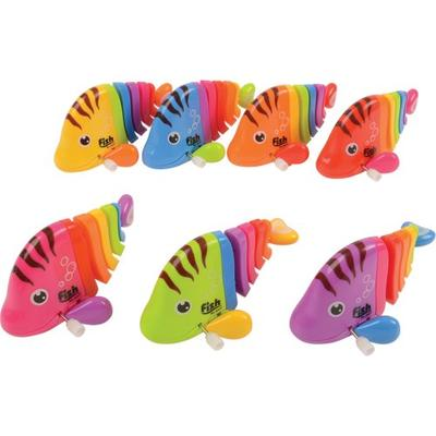 Image of Rainbow Color Wind Up Fish - STO