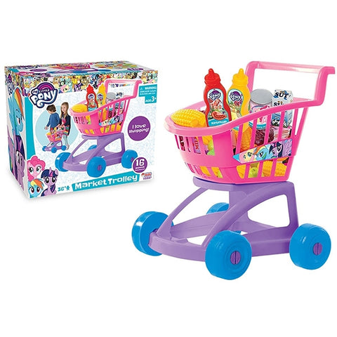 DEDE My Little Pony Shopping Trolley-3337