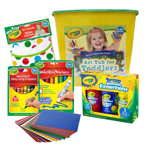 Crayola Art Tub For Toddlers