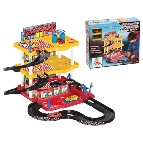 DEDE 3 Level Parking Play Set -YT-3068D
