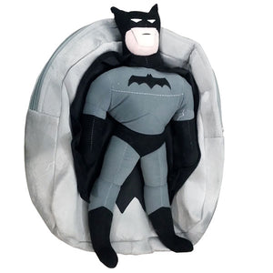 Stuff School Bag with Batman Man Figure