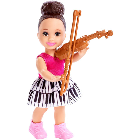 Barbie Careers Music Teacher Doll & Student Doll Playset