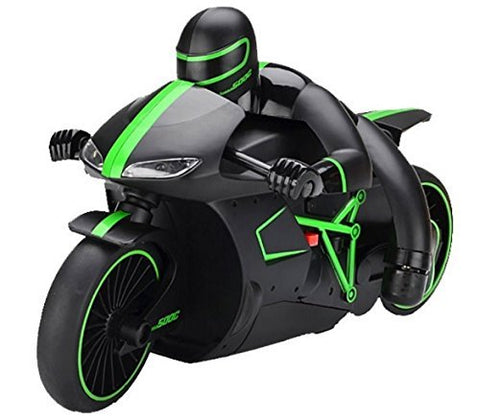 Image of Remote Control 2.4 GHZ Stunt Motorbike