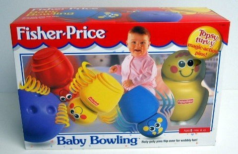 FISHER-PRICE BOWLING GAME FOR KIDS