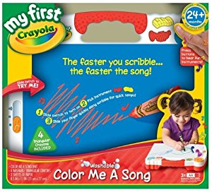 Image of Crayola My First Crayola Color Me A Song