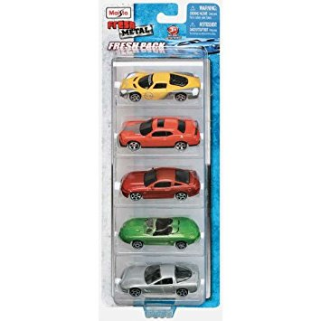 Maisto Model Car Set Pack of 5 1:64 Scale-15017