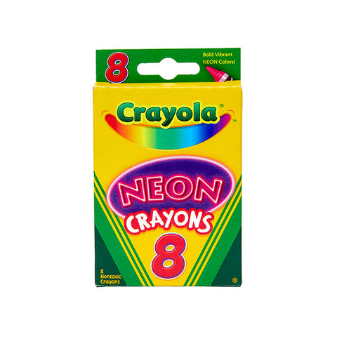 Crayola Neon Crayons Craft My toddler