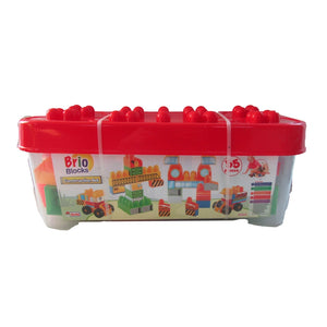 Dede Brio Blocks Construction Set 55 Pieces