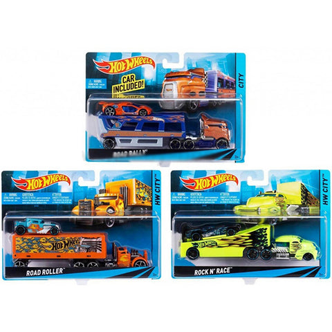 Image of Hot Wheels Long-Distance Truck
