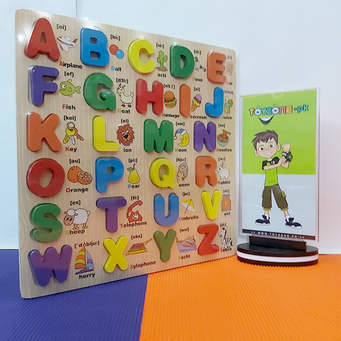 Wooden Learning Board A-Z