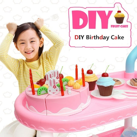 DIY Birthday Cake Trolley