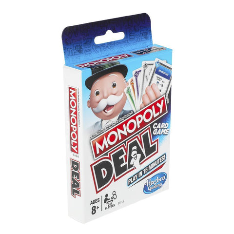 Hasbro Monopoly Deal Cards Game