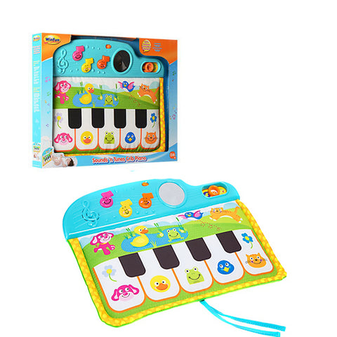 Image of  Winfun Piano Cradle For Baby Musical Fabric--0217