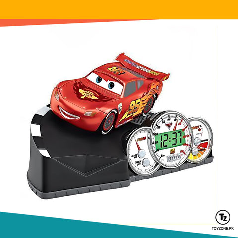 Image of Disney Pixar Cars Animated Alarm Clock