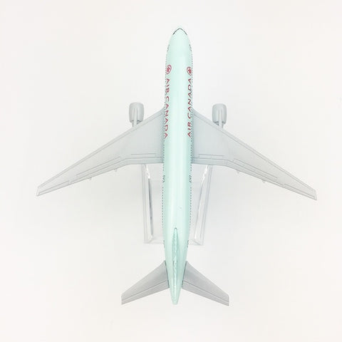Image of Metal Airplane - Air Canada Boeing 777