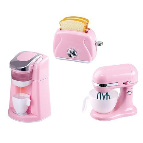 Playgo Kid's Gourmet Kitchen Coffee Maker & Toaster Set