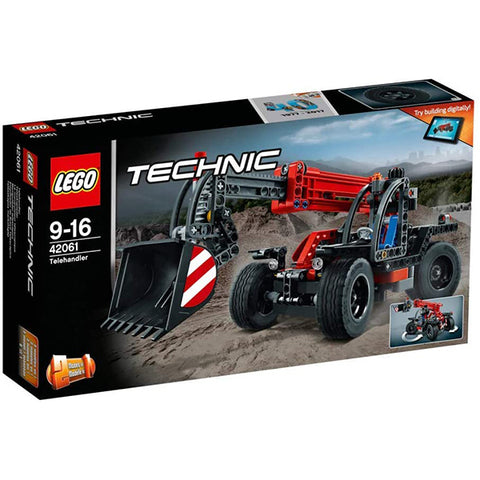 Image of LEGO 42061 Technic Telehandler Fun Building Toy