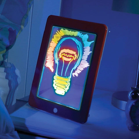 Image of 3D Magic Drawing Board With Glow