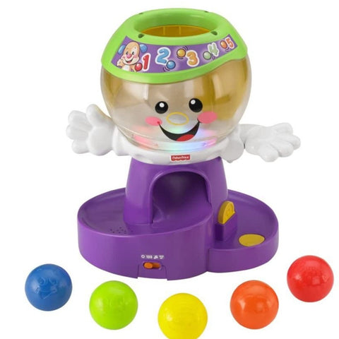 Fisher-Price LAUGH & LEARN COUNT GUMBALL