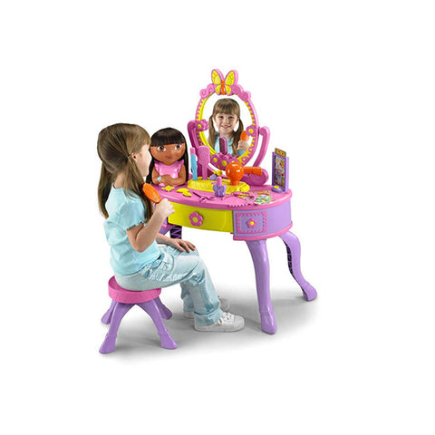 Image of Fisher-Price Dora's Let's Get Ready Vanity--K4182