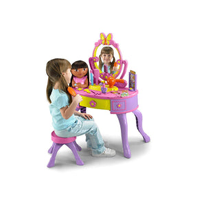 Fisher-Price Dora's Let's Get Ready Vanity--K4182