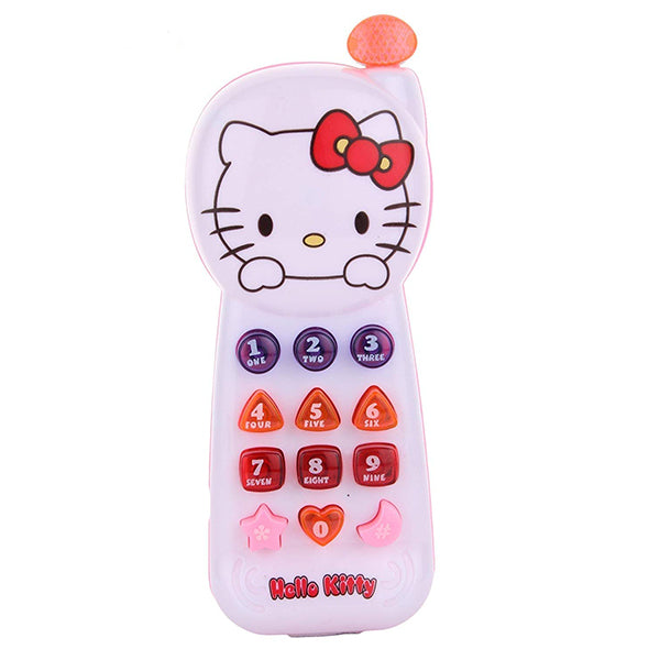Hello Kitty Musical Mobile Phone Toy with Music & Lights-170