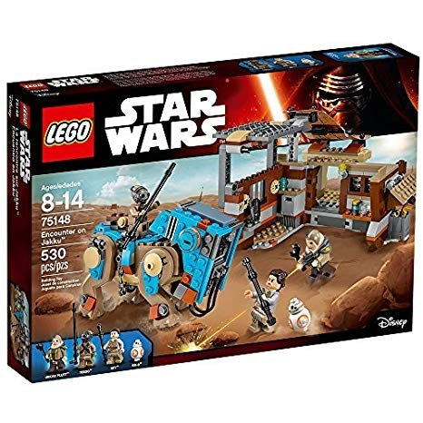 Image of LEGO Star Wars Encounter on Jakku Star Wars Toy-75148