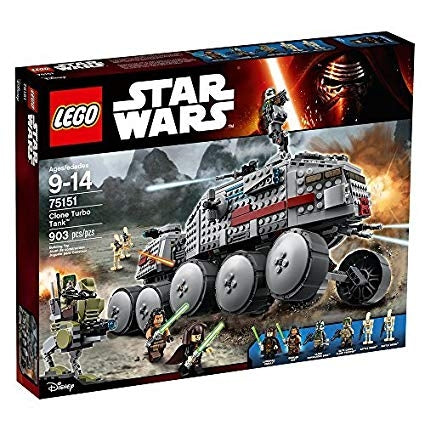LEGO Star Wars Clone Turbo Tank Star Wars Toy--75151