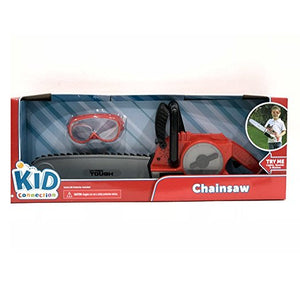 Chainsaw Toy with Safety Goggles Playset