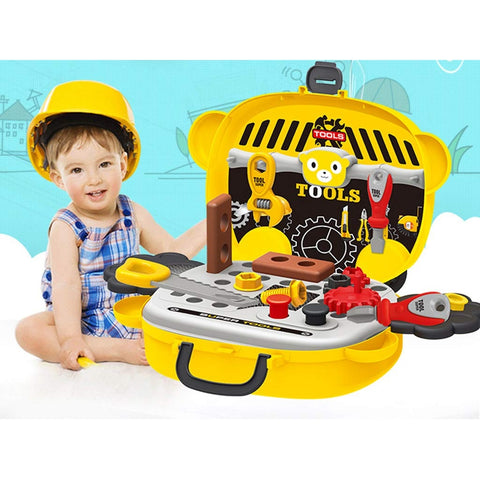 Image of Panda Tools Play Set Suitcase