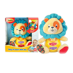 WinFun  Lion Plush Toy With Lights And Sound--0691