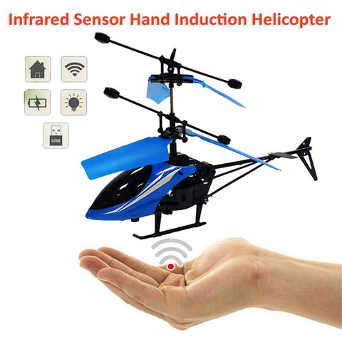 Infrared Hand Sensor Induction Helicopter-jq-1111